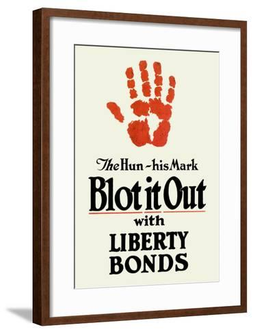 Blot It Out--Framed Art Print