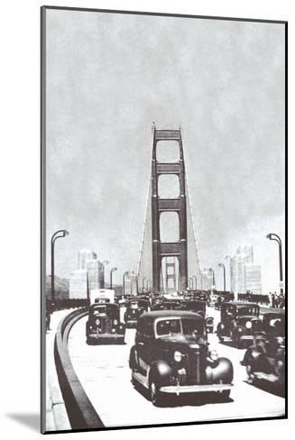 The Golden Gate Bridge, San Francisco, California--Mounted Art Print
