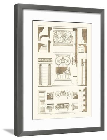 Ionic Capitals-J^ Buhlmann-Framed Art Print