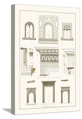 Windows and Doorways of the Renaissance-J^ Buhlmann-Stretched Canvas Print
