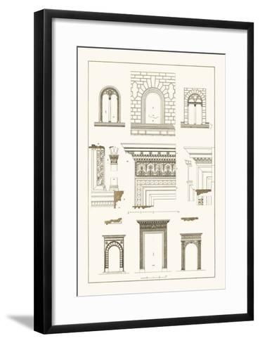 Windows and Doorways of the Renaissance-J^ Buhlmann-Framed Art Print