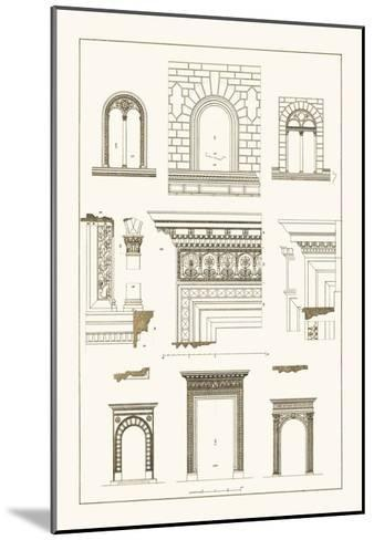 Windows and Doorways of the Renaissance-J^ Buhlmann-Mounted Art Print