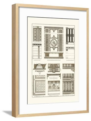 Ceilings with Visible Course of Beams-J^ Buhlmann-Framed Art Print