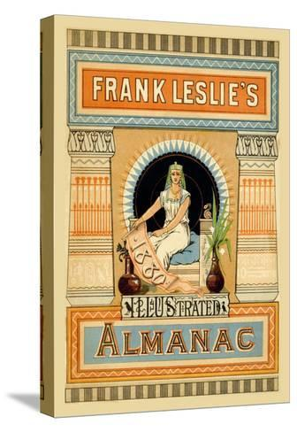 Frank Leslie's Illustrated Almanac: Egypt, 1880--Stretched Canvas Print