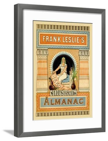 Frank Leslie's Illustrated Almanac: Egypt, 1880--Framed Art Print
