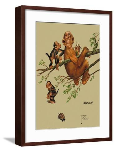 What is It?-Lawson Wood-Framed Art Print