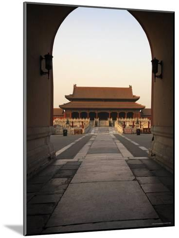 A Doorway to the Hall of Supreme Harmony in the Forbidden City-xPacifica-Mounted Photographic Print