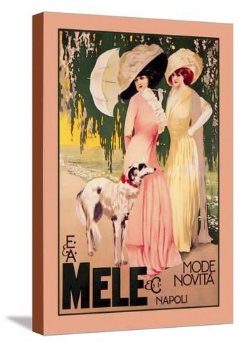E. and A. Mele and Ci Mode Novita Napoli--Stretched Canvas Print