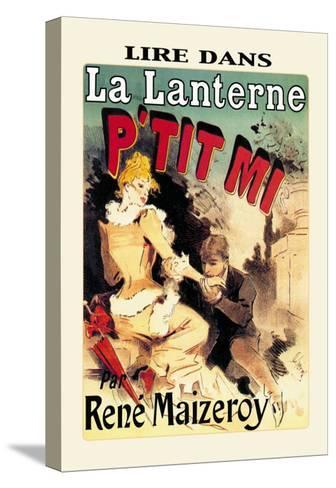 La Lanterne: P'tit Mi-Jules Ch?ret-Stretched Canvas Print