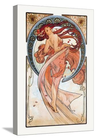 Dance-Alphonse Mucha-Stretched Canvas Print