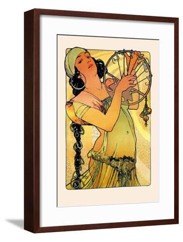 Salome-Alphonse Mucha-Framed Art Print