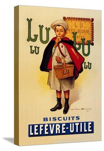 Lu Lu Biscuits-Firmin Etienne Bouisset-Stretched Canvas Print