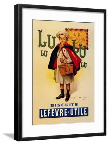 Lu Lu Biscuits-Firmin Etienne Bouisset-Framed Art Print