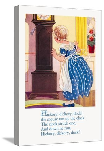 Hickory, Dickory, Dock!--Stretched Canvas Print