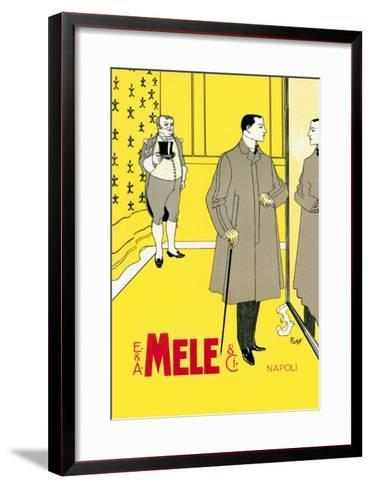 The Gentleman's Coat-Franz Laskoff-Framed Art Print