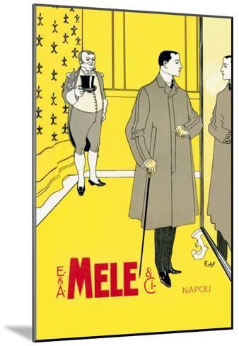The Gentleman's Coat-Franz Laskoff-Mounted Art Print