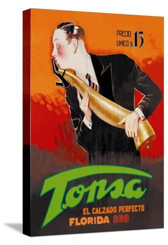 Tonsa: The Perfect Footwear--Stretched Canvas Print