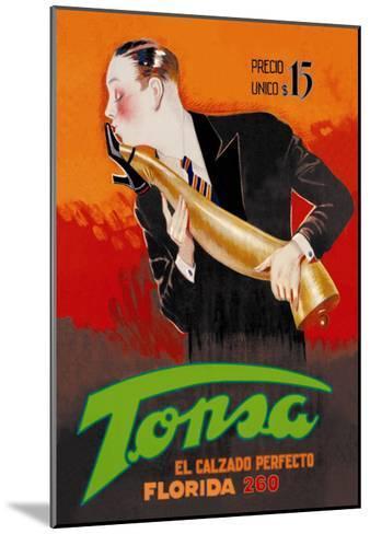 Tonsa: The Perfect Footwear--Mounted Art Print