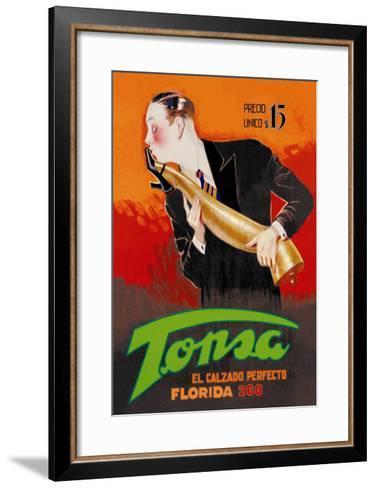 Tonsa: The Perfect Footwear--Framed Art Print
