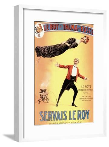 Servais Leroy: World's Monarch of Magic--Framed Art Print
