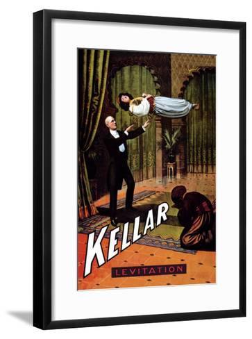Kellar: Levitation--Framed Art Print