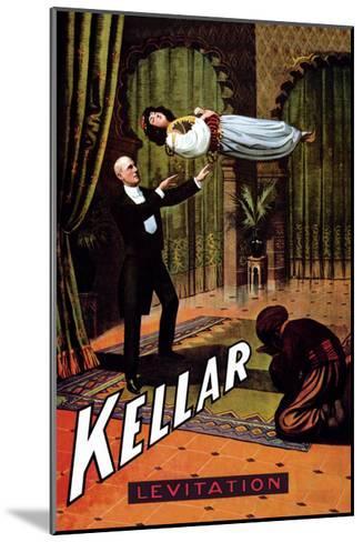 Kellar: Levitation--Mounted Art Print
