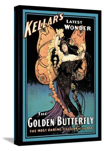 The Golden Butterfly: Kellar's Latest Wonder--Stretched Canvas Print