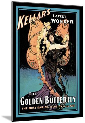 The Golden Butterfly: Kellar's Latest Wonder--Mounted Art Print