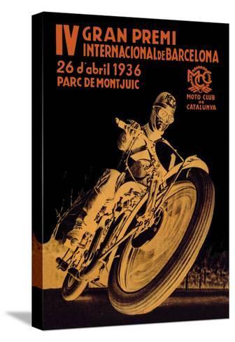 4th International Barcelona Grand Prix--Stretched Canvas Print