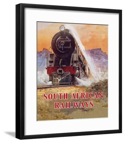 Cape to Cairo Route, South African Railways--Framed Art Print