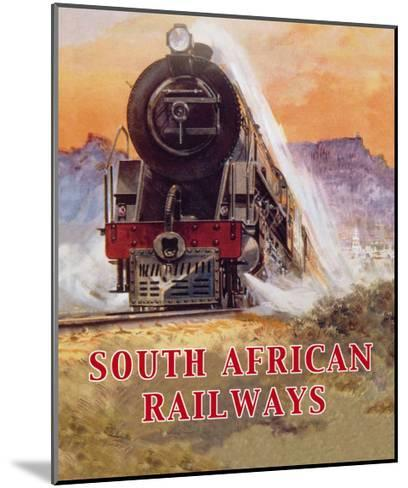 Cape to Cairo Route, South African Railways--Mounted Art Print