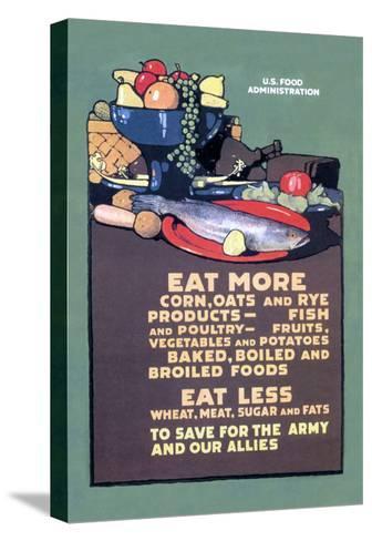 U.S. Food Administration Advisory-L^n^ Britton-Stretched Canvas Print