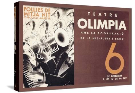 Theatre Olimpia-E^ Mora-Stretched Canvas Print
