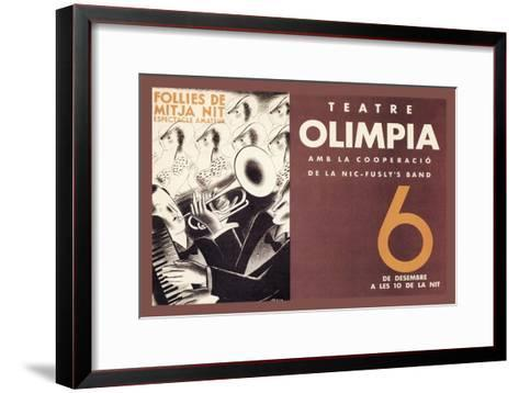 Theatre Olimpia-E^ Mora-Framed Art Print