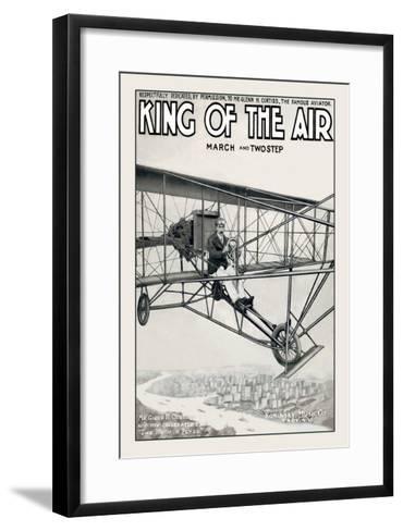 King of the Air--Framed Art Print