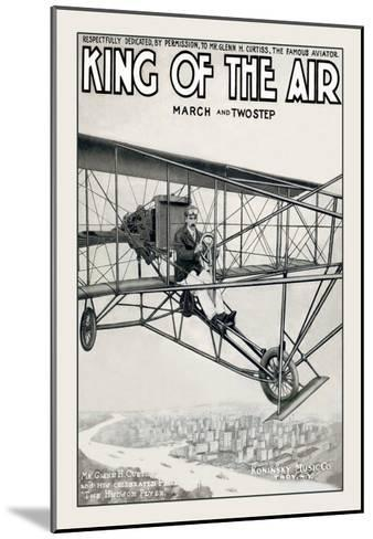 King of the Air--Mounted Art Print