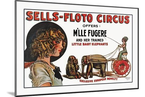 Sells-Floto Circus--Mounted Art Print