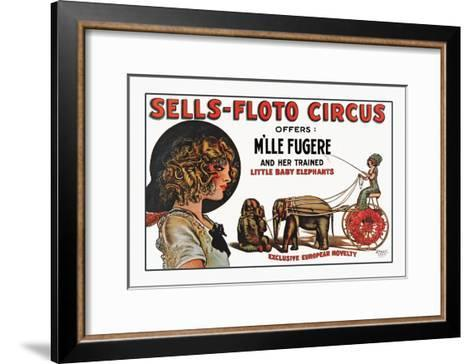 Sells-Floto Circus--Framed Art Print