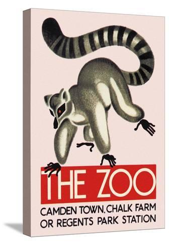 The Lemur--Stretched Canvas Print