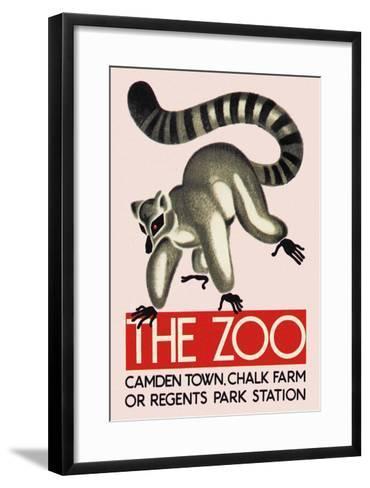 The Lemur--Framed Art Print