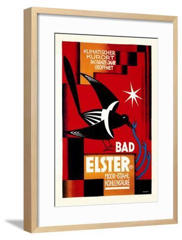 Klimatischer Kurort, Bad Elster- Ottolange-Framed Art Print
