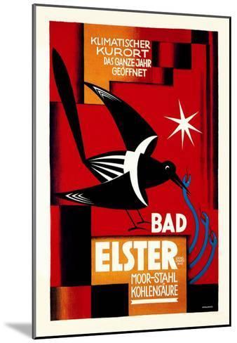 Klimatischer Kurort, Bad Elster- Ottolange-Mounted Art Print