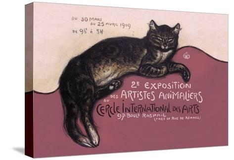 Exposition des Artistes Animaliers-Th?ophile Alexandre Steinlen-Stretched Canvas Print