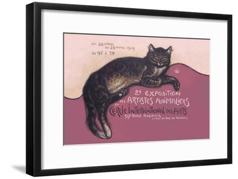 Exposition des Artistes Animaliers-Th?ophile Alexandre Steinlen-Framed Art Print