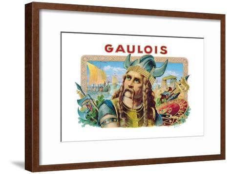 Gaulois Cigars--Framed Art Print