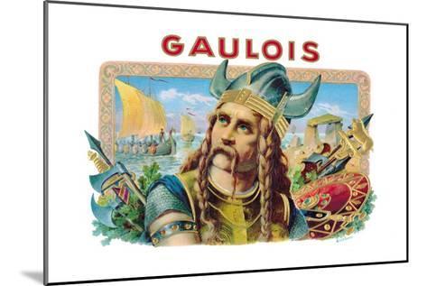Gaulois Cigars--Mounted Art Print