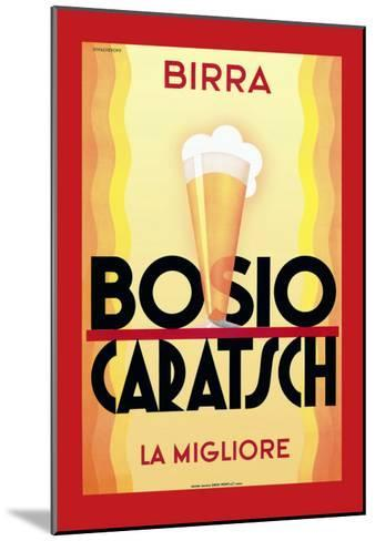 Birra Bosio Caratsch--Mounted Art Print