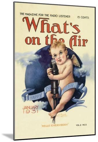 What's on the Air: Hello Everybody--Mounted Art Print