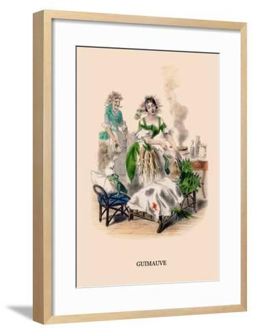 Guimauve-J^J^ Grandville-Framed Art Print
