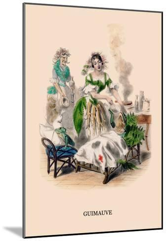 Guimauve-J^J^ Grandville-Mounted Art Print